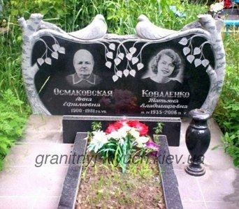 Памятники на двоих на могилу фото памятник с семейный Шумерля